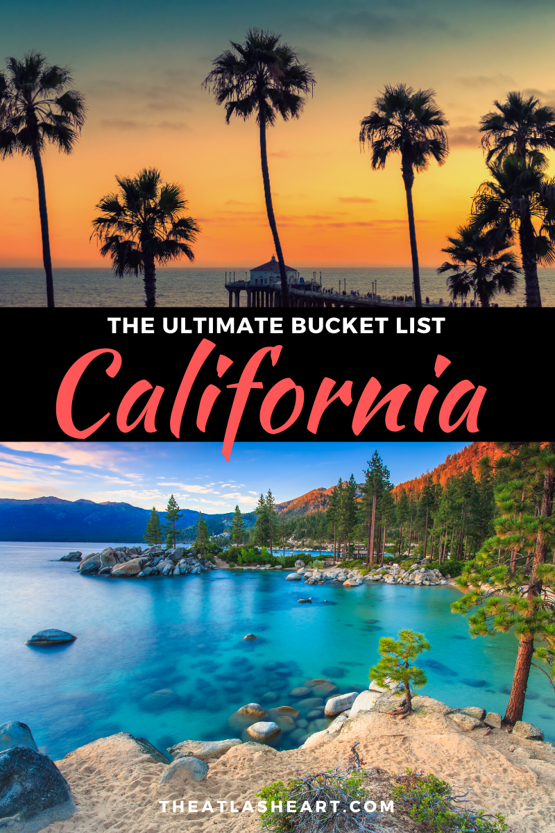 101 Things to do in California (from a local) | The Ultimate Bucket List