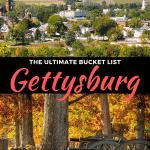 best things to do in gettysburg, pennsylvania