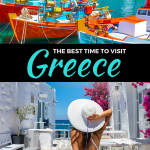 Best time to visit Greece