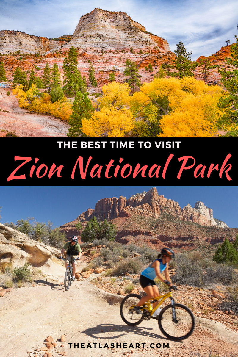 best time to visit zion national park in utah