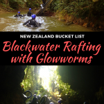 blackwater rafting with glowworms in waitomo, new zealand