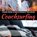 Couchsurfing from a solo female perspective