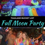 full moon party in koh phangan, thailand