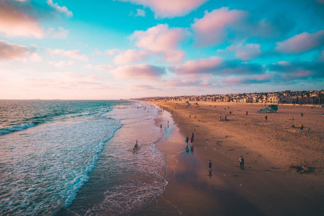 la beaches - hermosa beach
