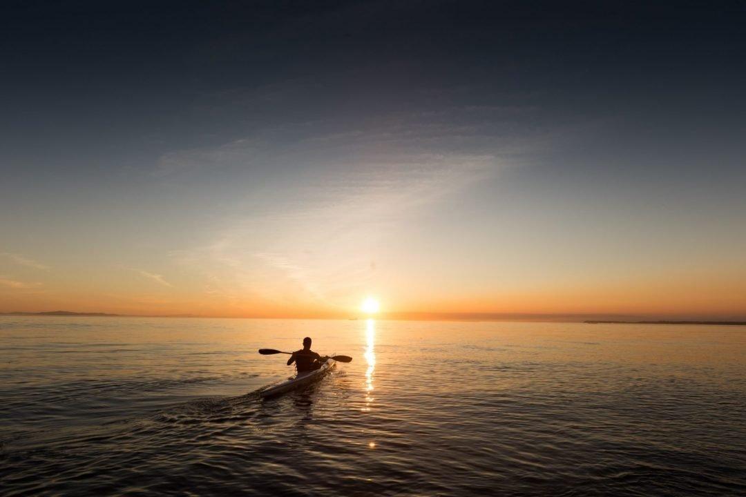 must do in santa cruz - kayaking the monterey bay