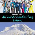 mt hood snowboarding lessons outside of portland, oregon