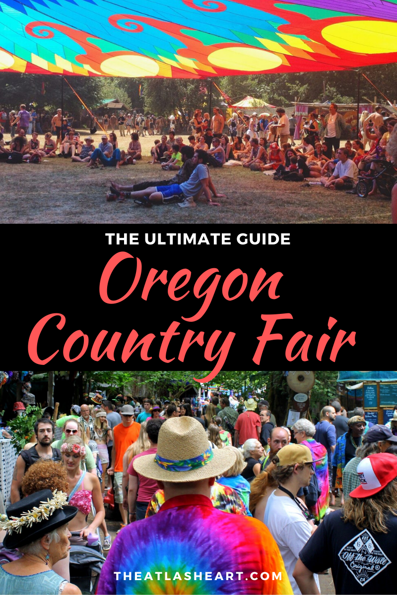 oregon country fair in veneta, oregon