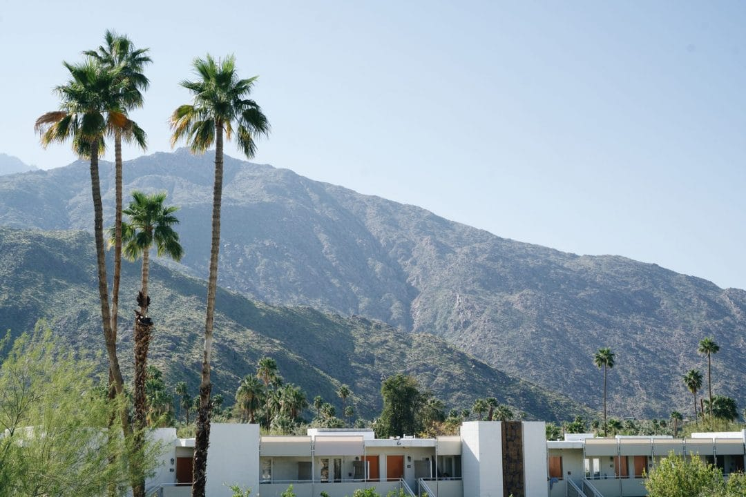 best weekend trips from los angeles - palm springs