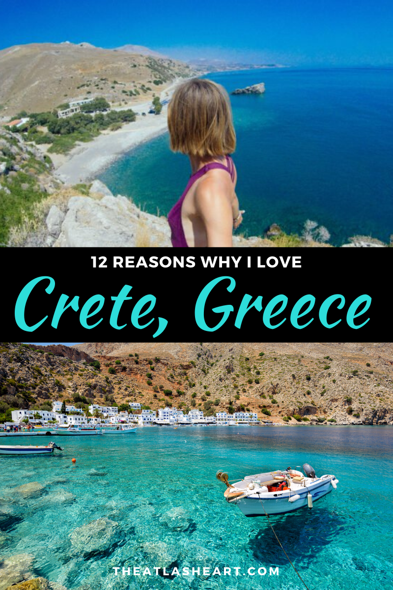 Reasons why I Love Crete, Greece