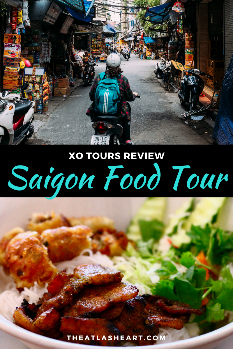 saigon food tour in vietnam