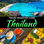 travel budgeting for thailand