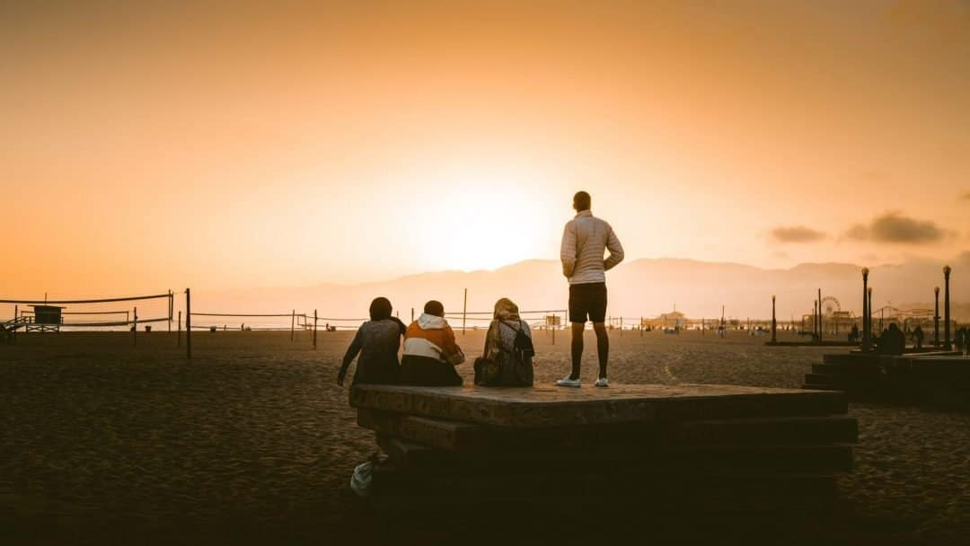 best beaches in la - venice beach
