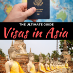 guide to visas in asia for americans