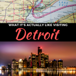 visiting detroit michigan