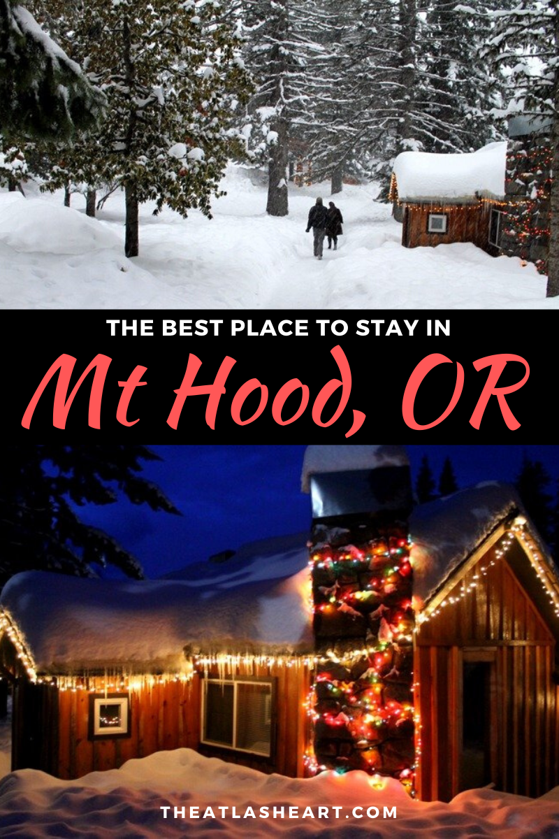 where to stay in mt hood, oregon - cooper spur mountain resort