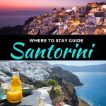 where to stay in santorini greece