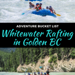 whitewater rafting in golden bc, canada