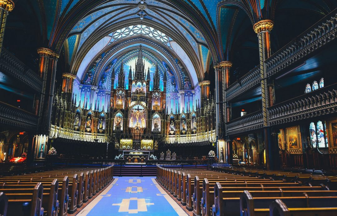 montreal to do list - notre dame basilica in old town