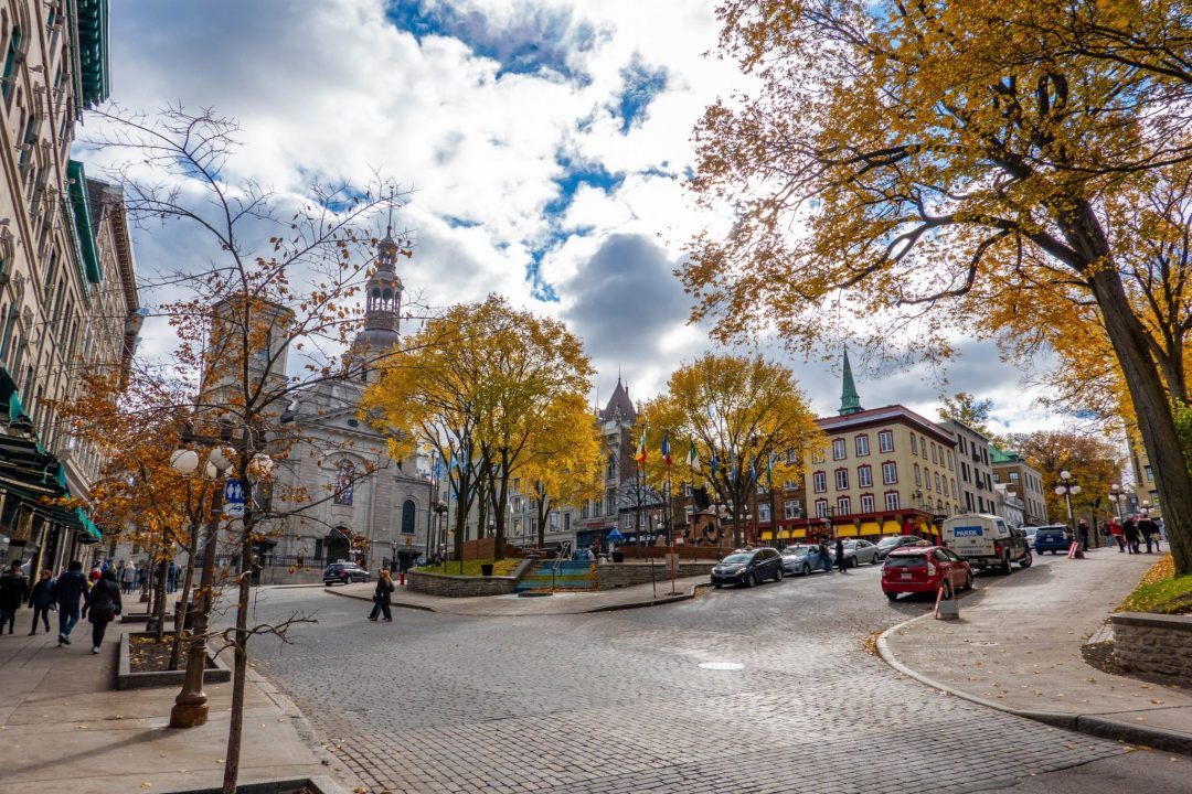 day trips from montreal canada - quebec city