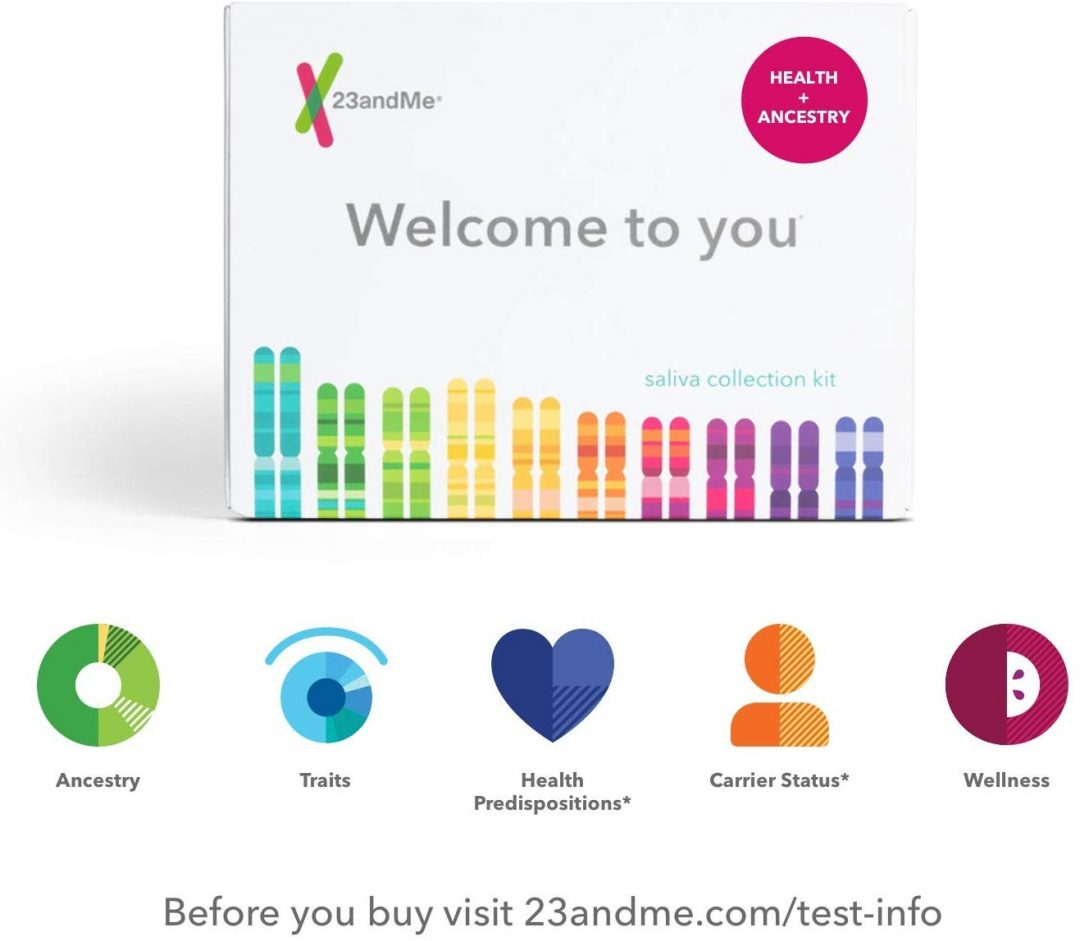 gift ideas for parents who have everything - 23andme DNA kit