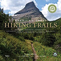 gifts for outdoorsy women - America's greatest hiking trails book