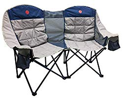 best gift for parents - double loveseat camp chair