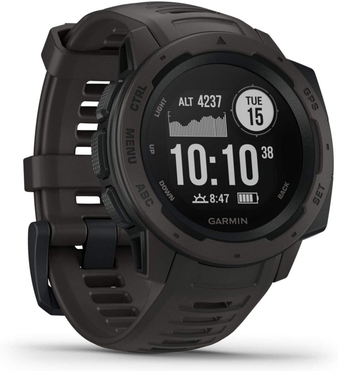 garmin instinct gps watch for hikers