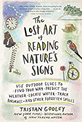 best hiking books lost art of reading nature's signs