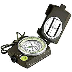 backpacking gadgets - hiking compass