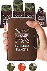 ultralite hiking gear - hiking emergency blankets