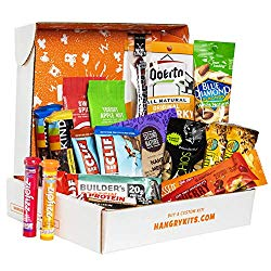 outdoor gifts for him - hiking snacks gift box