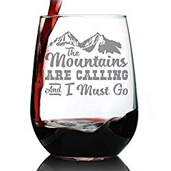 wine glass for hikers