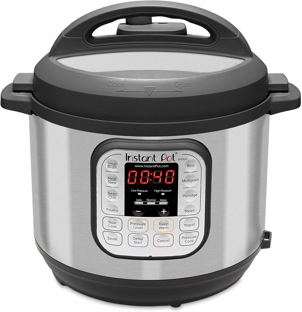 instant pot electric pressure cooker, slower cooker, rice cooker