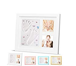 christmas gift for expecting mothers - newborn handprint and footprint kit