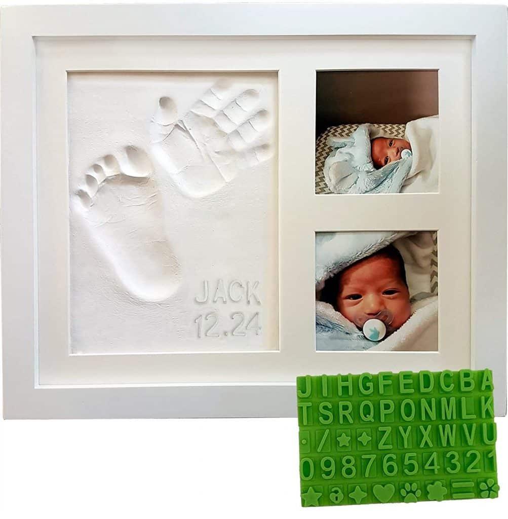newborn handprint and footprint kit