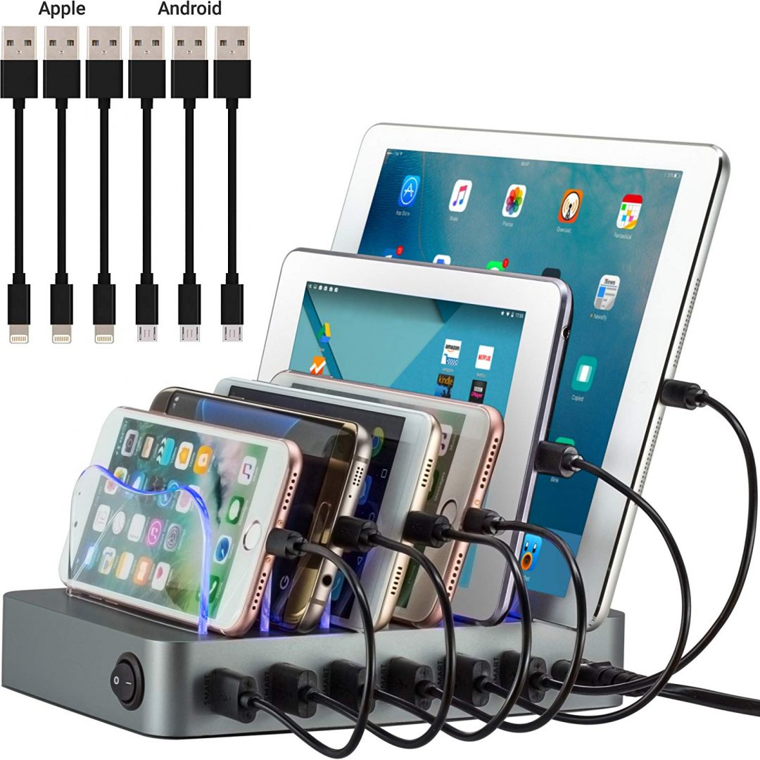 best gifts for parents - simicore smart charging station dock