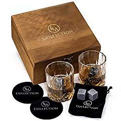 thoughtful gift ideas - whiskey stones gift set