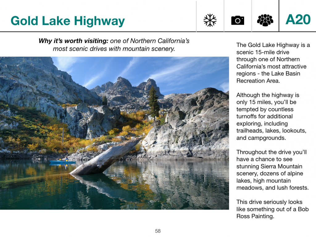 California road trip guide excerpt
