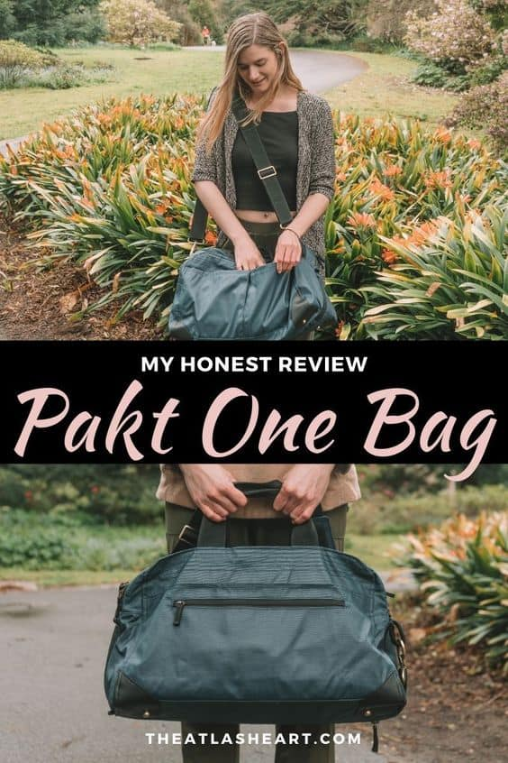 Pakt One Review - The Ultimate Minimalist Travel Bag?