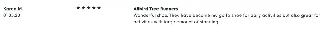 Allbirds Tree Runners Reviews