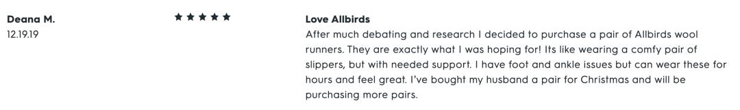 Allbirds Wool Runners Reviews