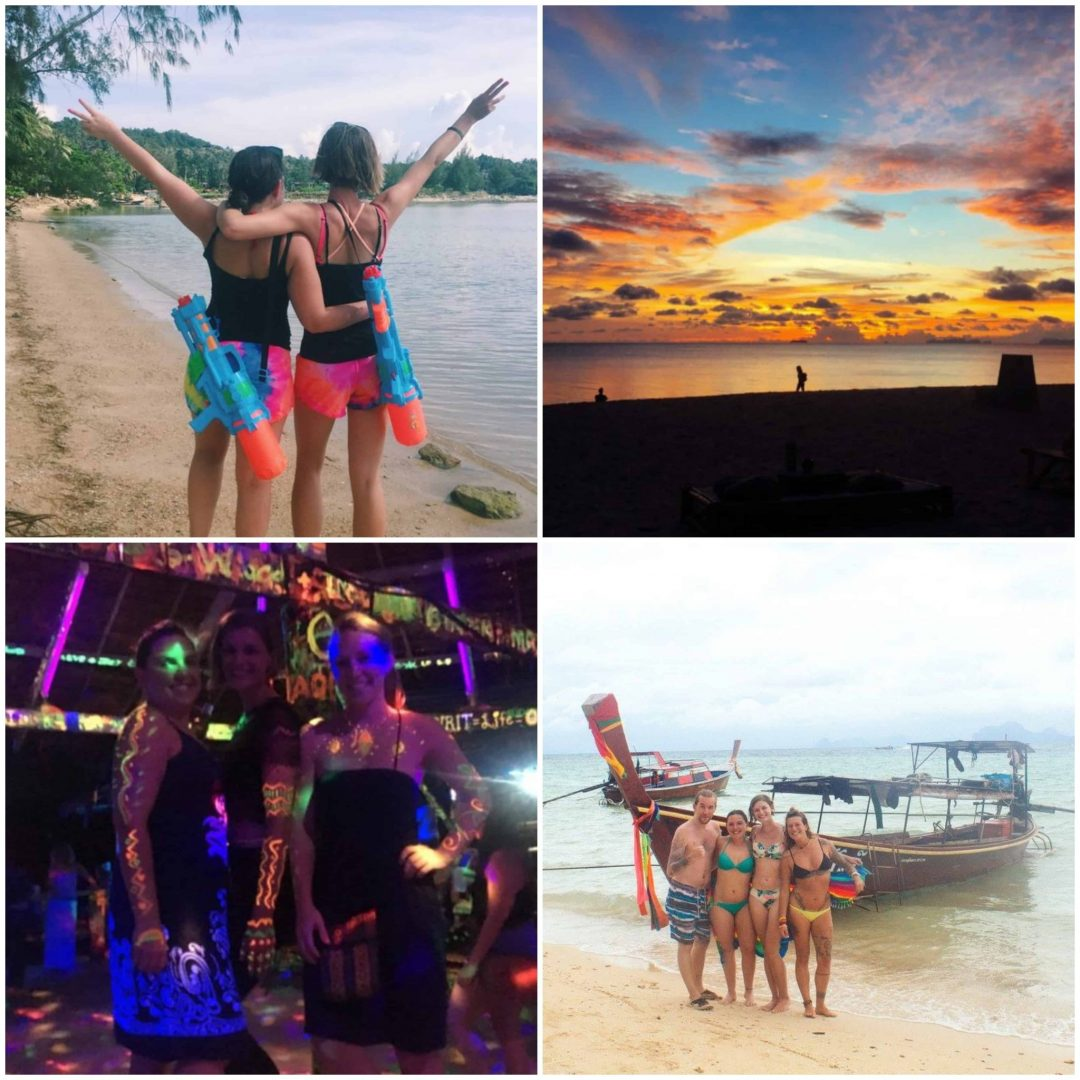 having the time of my life in Thailand after a breakup