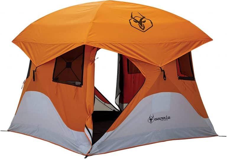 4 man pop up tent - Gazelle 4 person pop up