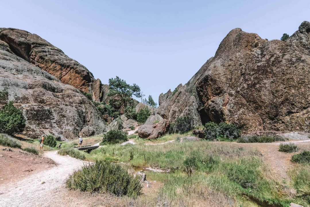 best overnight trips from san francisco - pinnacles national park