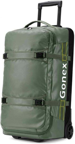 Gonex Rolling Duffel Bag - best wheeled duffel bag