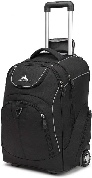 High Sierra Powerglide - best rolling backpack with laptop compartment