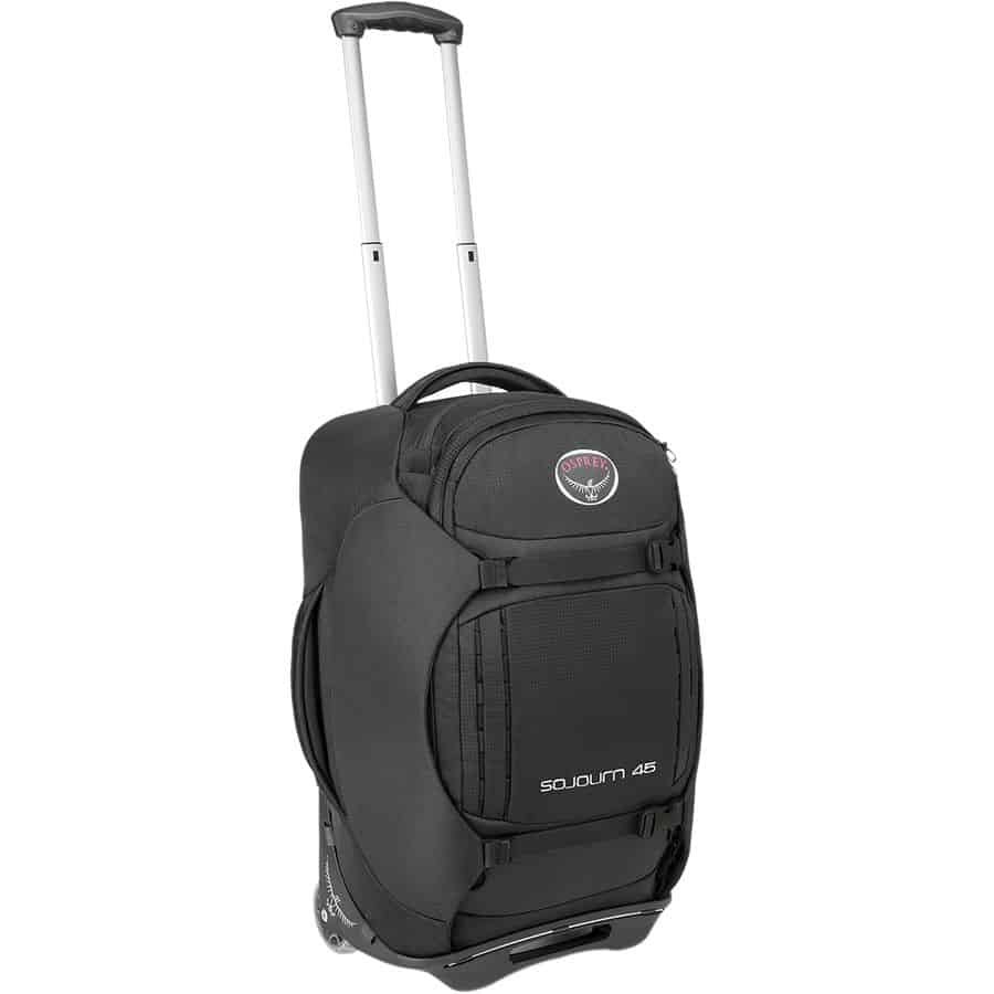 Osprey wheeled backpacks - Sojourn 45L rolling gear bag -best wheeled backpack for travel