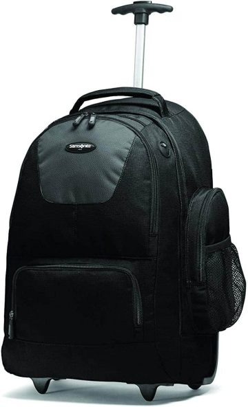 best lightweight backpack with wheels - Samsonite Wheeled Backpack with Organizational Pockets