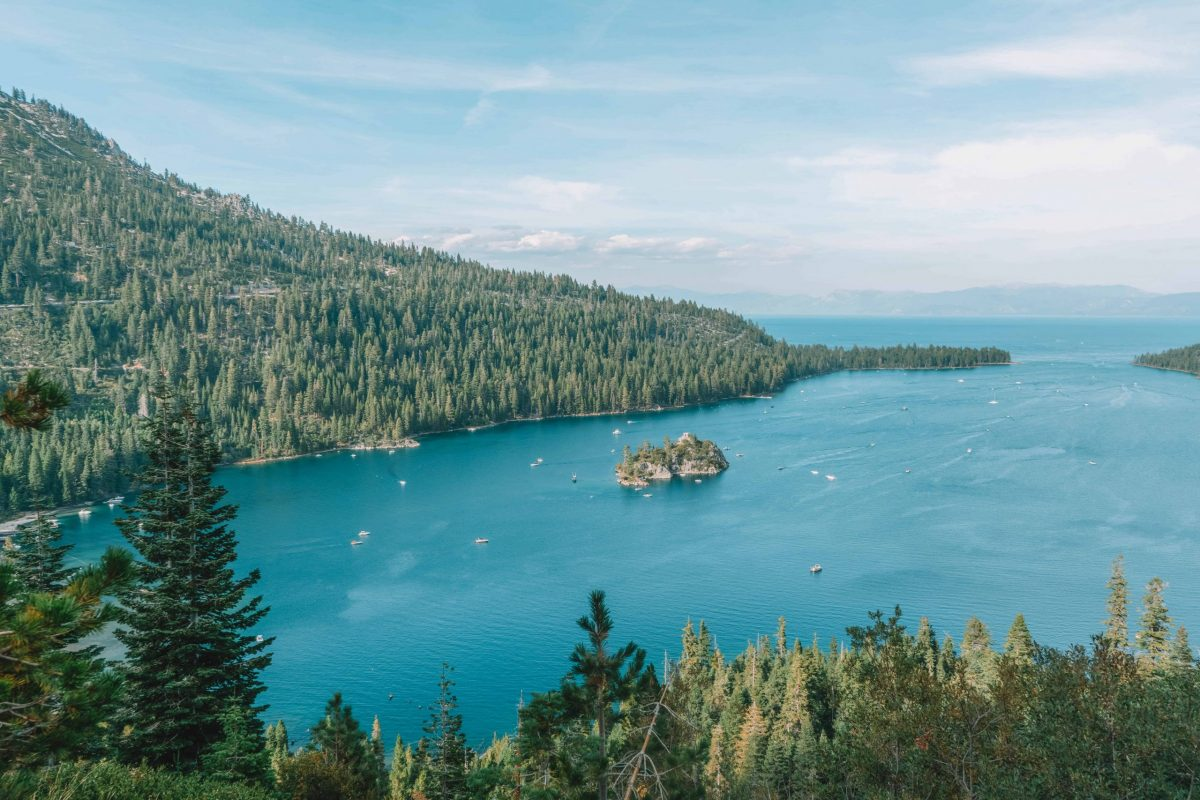 Take in the views of Fannette Island