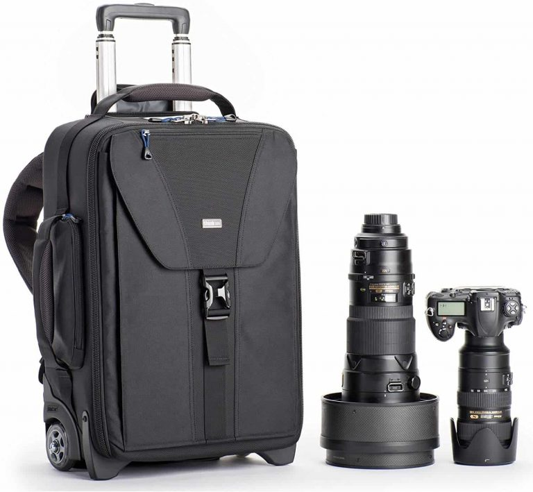 Think Tank Photo Airport Takeoff V2.0 (Black) - best rolling camera backpack